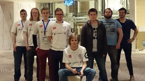 David «kanelsnurr» Jensen deltok i verdensmesterskapet i Aserbajdsjan i fjor høst.