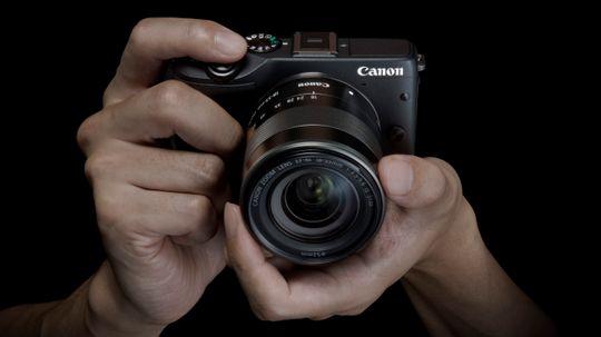 Canon EOS M3, et speilløst systemkamera i en hending størrelse.