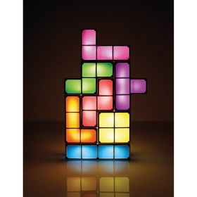 Tetris bordlampe.
