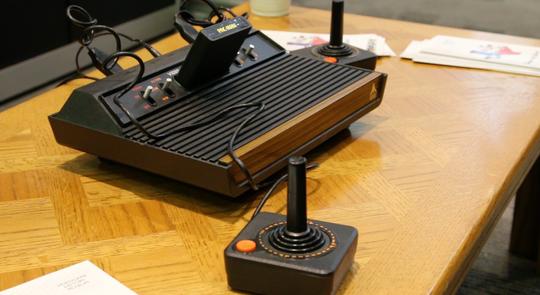 Atari 2600 var ingen kraftplugg.