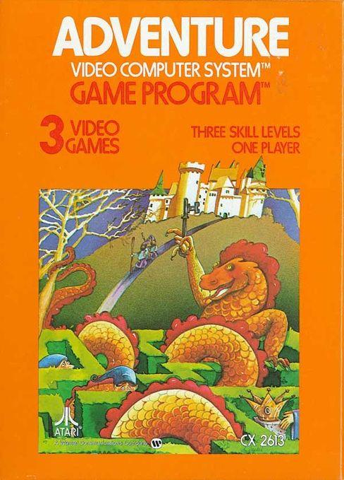 Omslaget til Adventure.