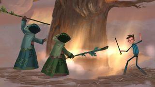 En garde, spinnville kult-søstre.