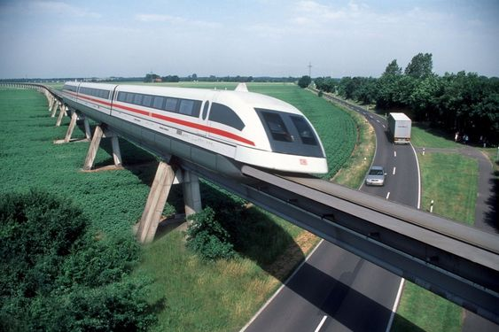 Det tyske svevetogsystemet Transrapid.