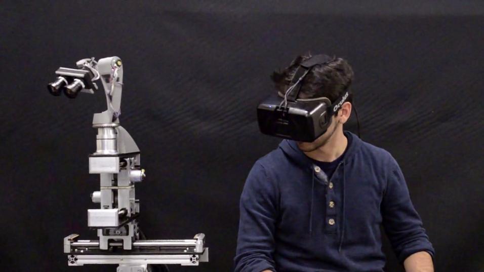 Denne roboten skal gjøre VR-opplevelsene superrealistiske