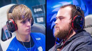 Jens Waller «Snute» Aasgaard (t.v.) og Kristoffer «TargA» Marthinsen møtes nok en gang i finalen av StarCraft-ligaen på Gamer.no.