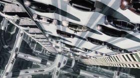 I Minority Report kunne bilene kjøre på vegger.