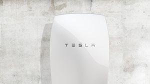 Daimler-batteriet blir en direkte konkurrent til Teslas Powerwall-batteri, her avbildet.