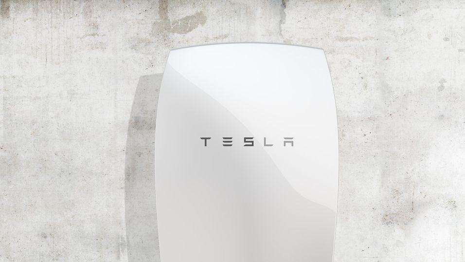 Teslas Powerwall-batteri kan få trange kår i Spania.