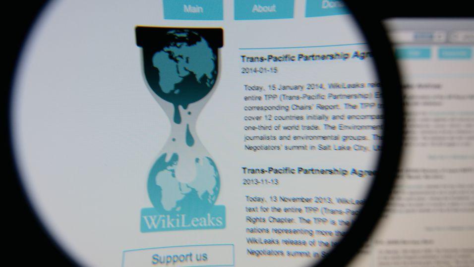 WikiLeaks ble utsatt for angrep før publiseringen av flere hundre tusen e-poster fra regjeringspartiets e-postserver.