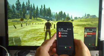 Modder tar over Grand Theft Auto V-mobilen med sin egen telefon