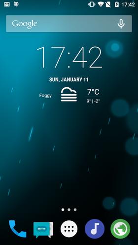 CyanogenMod kan for eksempel se slik ut, men kan også tilpasses på tusenvis av andre måter.