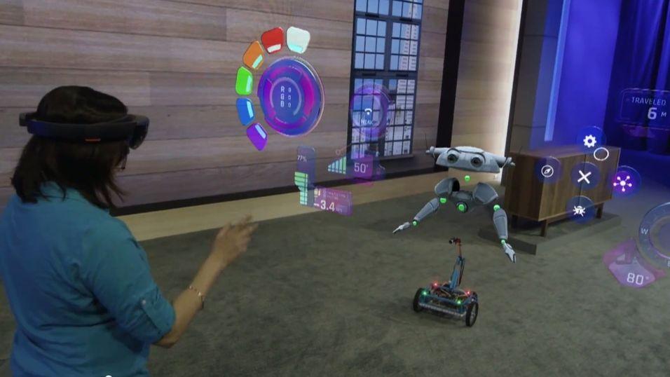 Dette kan du gjøre med Microsofts nye «hologram»-briller
