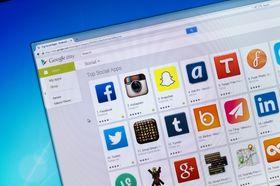 Mange Google Play-apper kobler seg opp mot sporingsnettsteder.