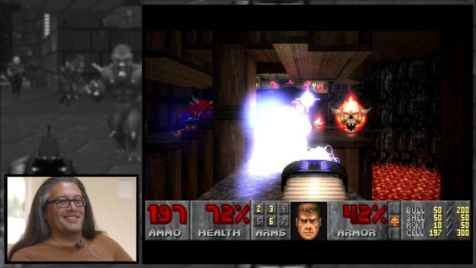 John Romero, her fra en video av Double Fine.