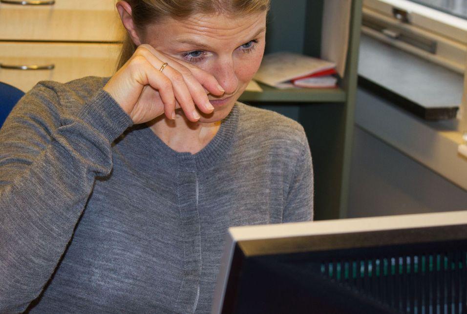 Blunkepåminner mot såre PC-øyne
