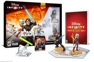 Startpakken til Disney Infinity 3.0.