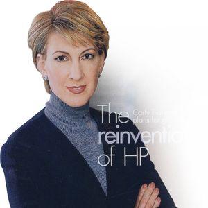 REDNINGEN: Slik fremsto Carly Fiorina i sin tid som en redningskvinne for HP.