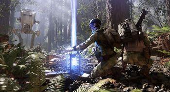 Du kan ikke sikte langs løpet i Star Wars: Battlefront