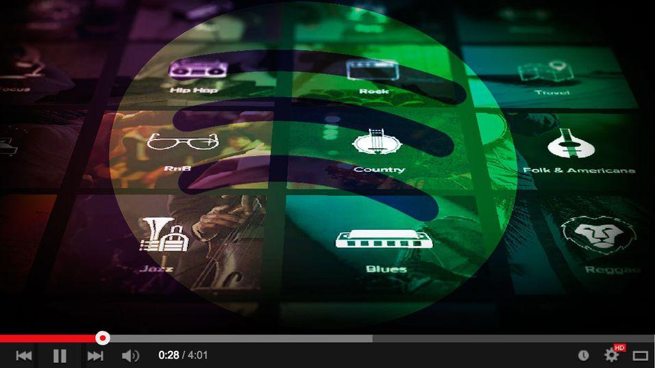 – Spotify vil begynne med video-innhold