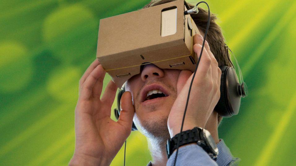 Se om du vant Googles Cardboard VR-briller