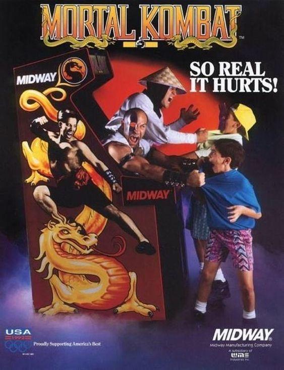 Best å holde seg unna Mortal Kombat, altså.