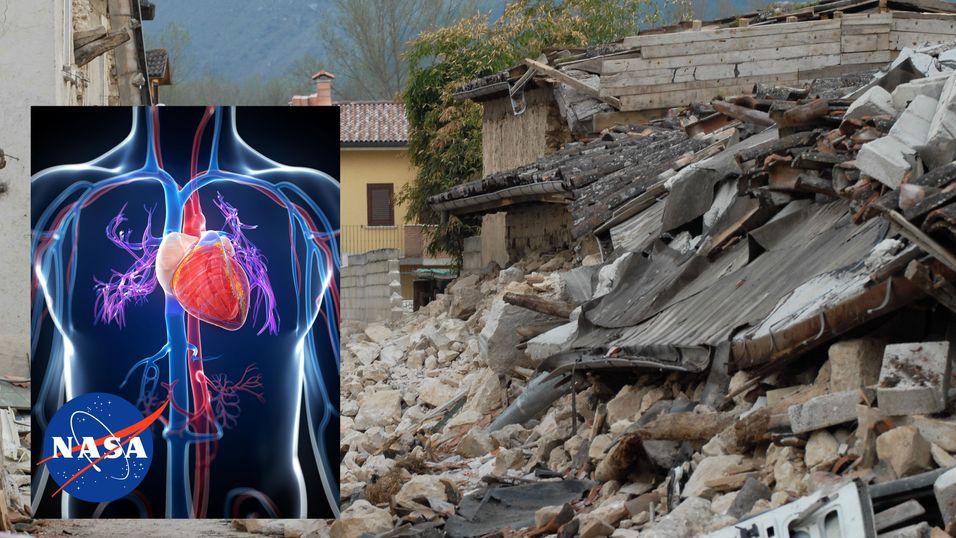 NASAs nye oppfinnelse fanger opp hjerteslag i ruinene i Nepal