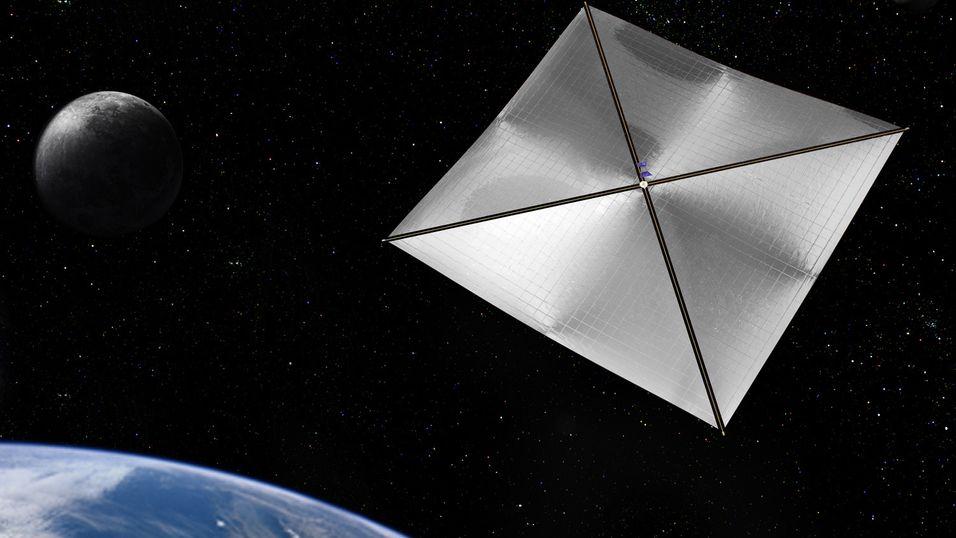 Konseptbilde fra NASA.