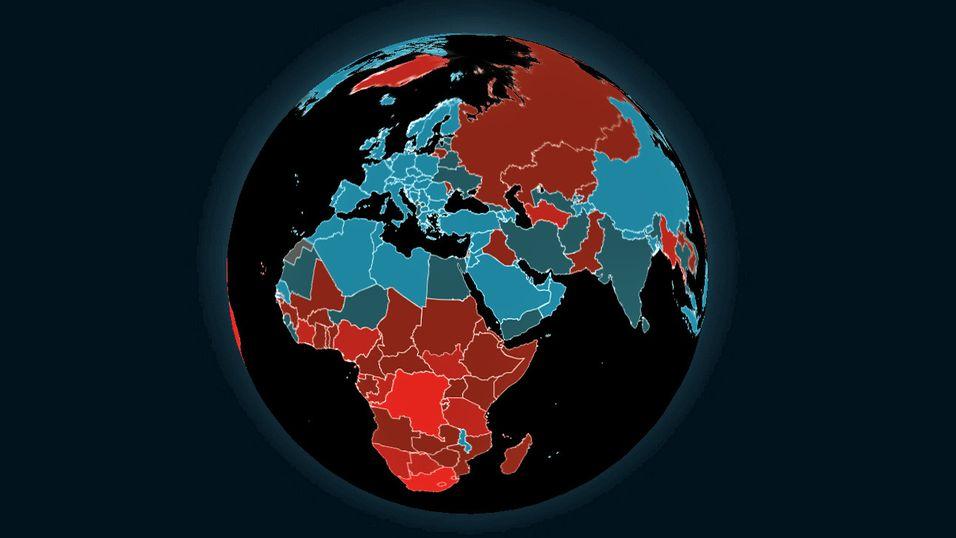 Verdens drapsstatistikk.