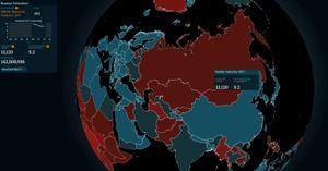 Russland og resten av de tidligere Sovjet-statene sliter.