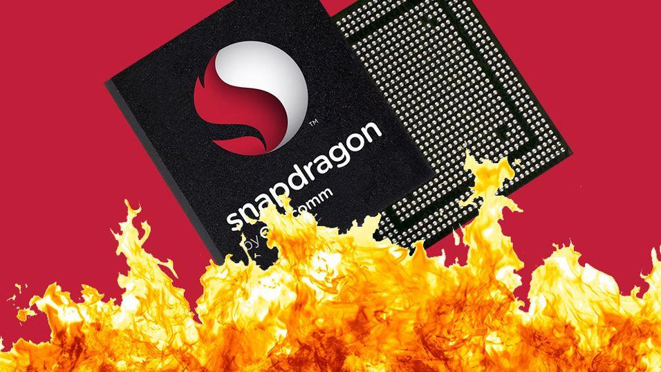 Qualcomm tilbakeviser ryktene om at 810-prosessoren deres overopphetet.