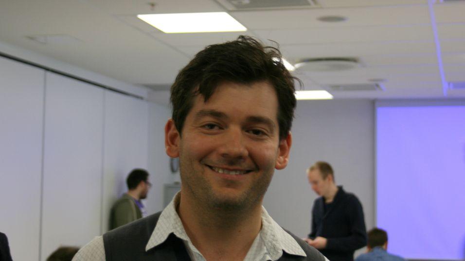 Andy Vance er fungerende teknisk sjef i Telenor Health, og var i Oslo for å gi utviklerne perspektivet på Bangladesh.