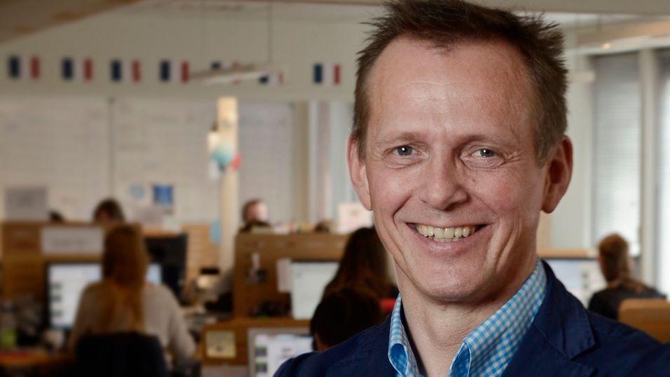 Arve Andreassen og kollegene i Chess kan smile stort: I dag er de landets mest populære mobilselskap.
