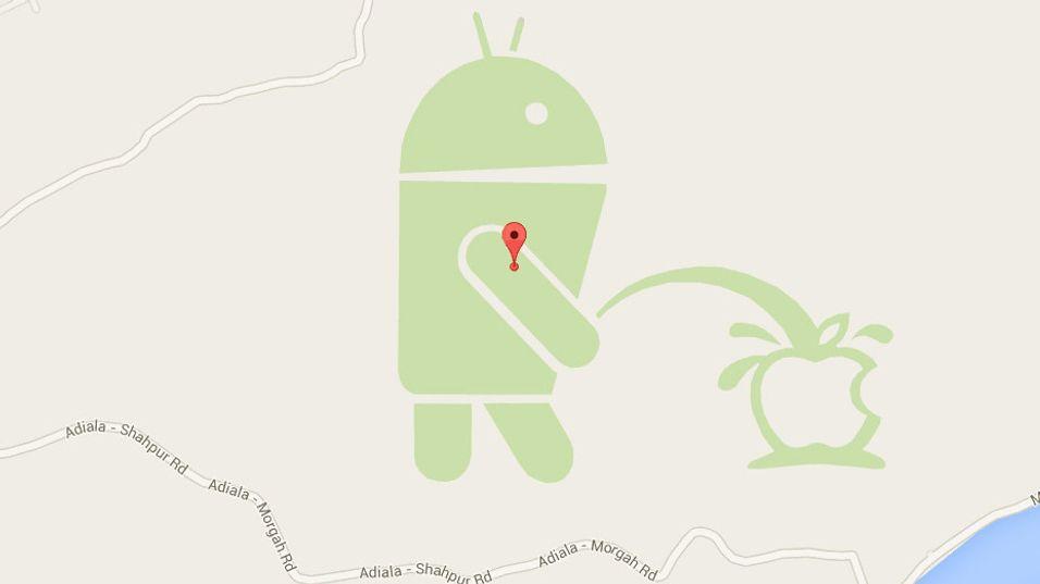 Google stenger kart-tjeneste etter vandalisme