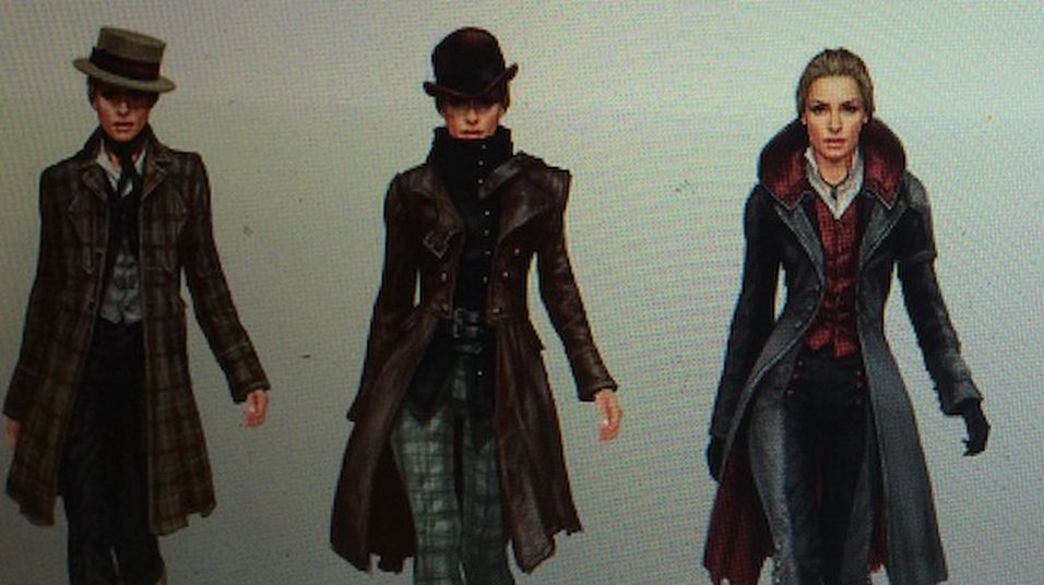 Evie inntar Assassin's Creed: Syndicate.