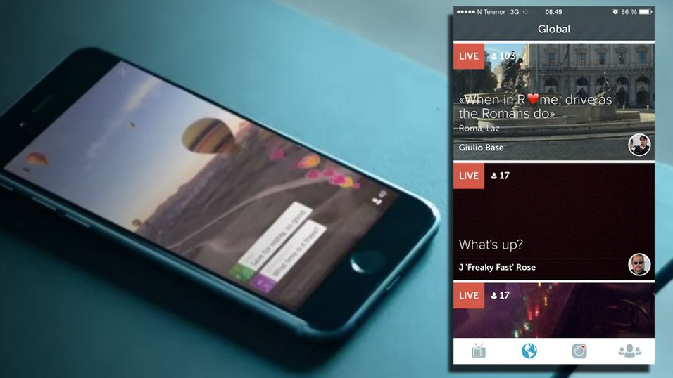 Nå får du også prøve snakkis-appen