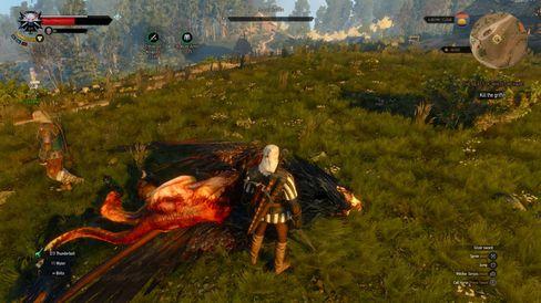 Griffen er endelig død.