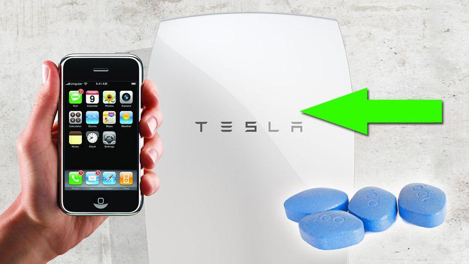 – Tesla-batteriet kan bli større enn iPhone og Viagra