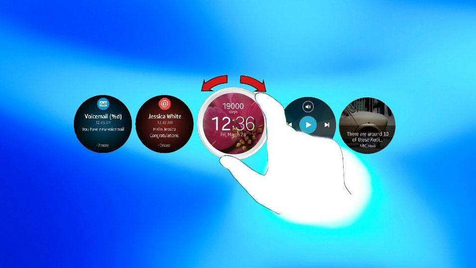 Samsungs neste smartklokke får roterbar urkrans