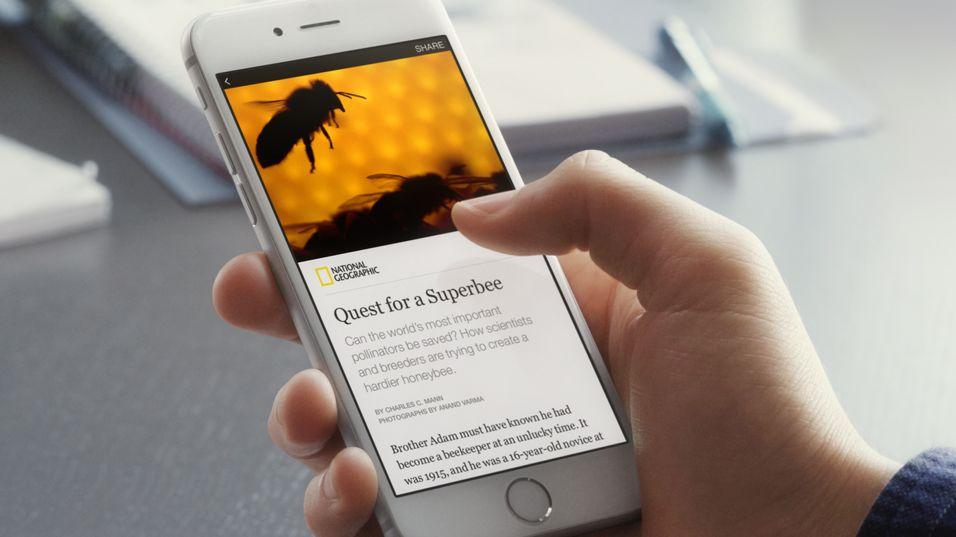 Facebook lager furore i publiseringsbransjen