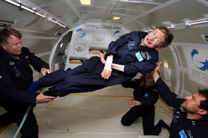Stephen Hawking – ved en annen anledning.