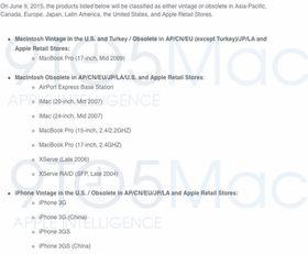 Det er i dette dokumentet Apple avslører at støtten kuttes til de eldste iPhone-modellene.