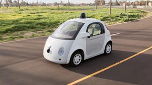 Den nye Google-autobilen.