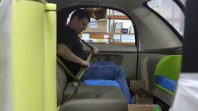 Googles selvkjørende biler er ikke spesielt romslige på innsiden.