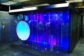 IBMs Watson-maskin.
