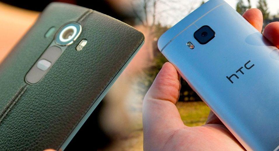 LG G4 og One M9 er begge toppmodeller nå, men bare én av dem får en Mini-versjon.