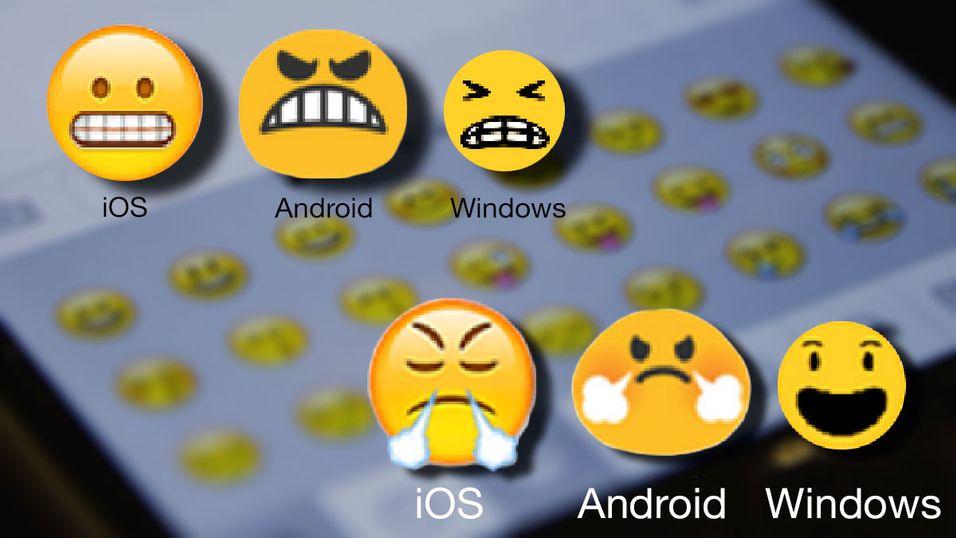 Disse emojiene bruker vi feil