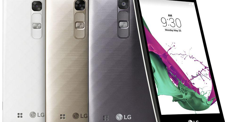 Samme design som storebror, men mindre størrelse og lavere pris. LG G4c dukker opp i norske butikker i løpet av sommeren.