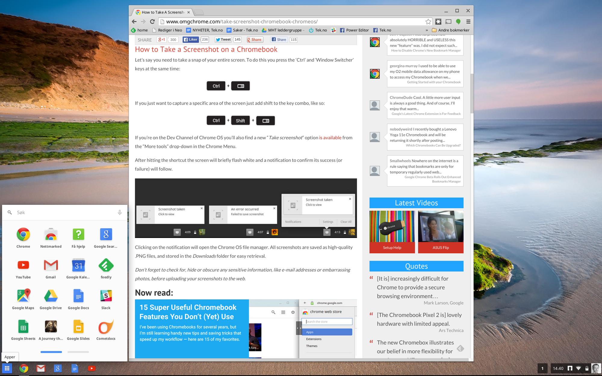de663f620 Tre uker med Chromebook er over – slik gikk det - Tek.no