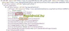Utdrag fra «user agent profile»-filen som angivelig avslører den kommende S6 Active-modellen.