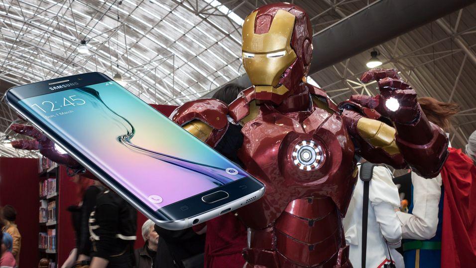 En Iron Man-utgave av Samsung Galaxy S6 Edge skal være på vei.
